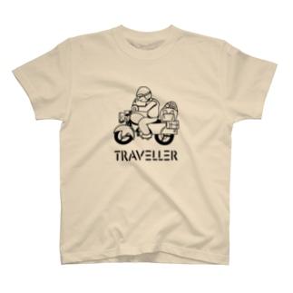 TRAVELLER トラベラー 222 T-Shirt