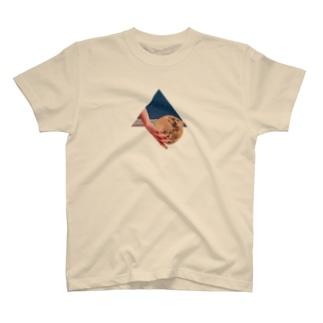 差し入れの月 T-shirts