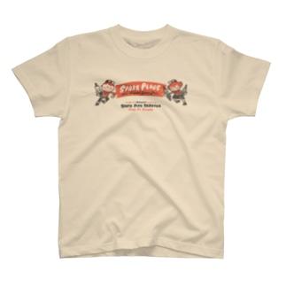スパークプラグとBoy & Girl★アメリカンレトロ【片面A柄】 T-shirts