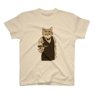 ウェイタースナギツネ T-shirts