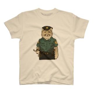 お巡りスナギツネ T-shirts