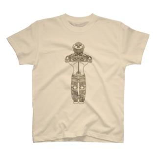 中空土偶 茶 茅空(かっくう) T-shirts