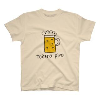 crocoの生ビール T-shirts