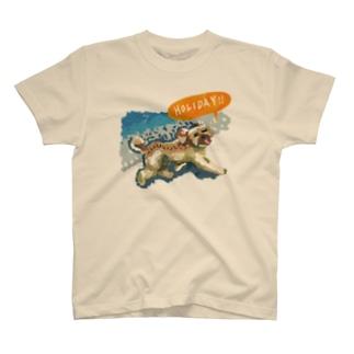 トイプードルのよも(ホリデー) T-shirts