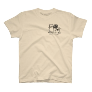 オコジョの落書き T-shirts