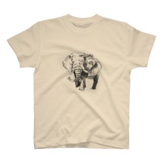アフリカゾウ Tシャツ
