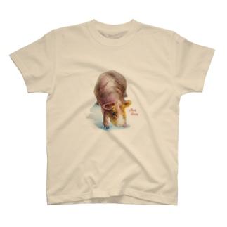 aNone sOnoneのスキニーギニアピッグ T-Shirt