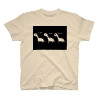 ぺんぺんがおがおザウルス T-shirts