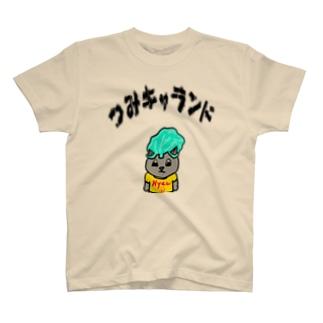 TSUMI-LOGO-BKUROSKI T-shirts