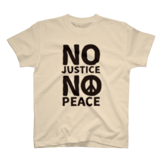 FickleのNO JUSTICE NO PEACE T-shirts