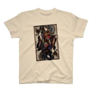 Queen Of Black Heart Tシャツ