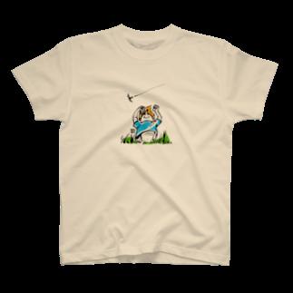 ウチダヒロコ online storeの夏の子 T-shirts