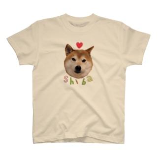 ラブリー柴犬 T-shirts