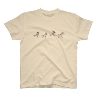 サバンナ鳥獣戯画 T-shirts