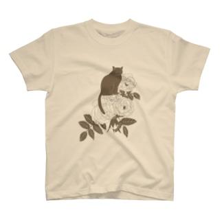 ミルクティーローズ T-shirts