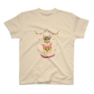 おちびとチャトニャン(サーカス) T-shirts