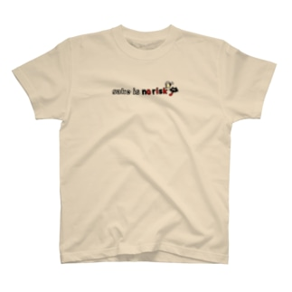 酒はノーリスクだと思ってる猫 T-shirts