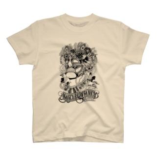 マスカラボタニコTシャツ T-shirts