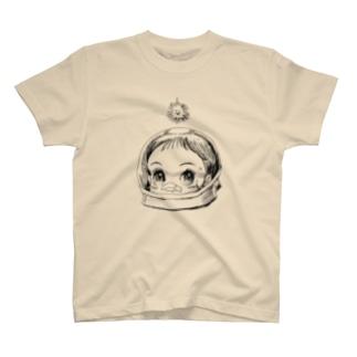 ヤノベケンジ《サン・チャイルド》(太陽の子) Tシャツ