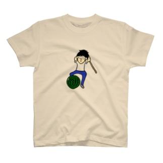 スイカ割り T-shirts