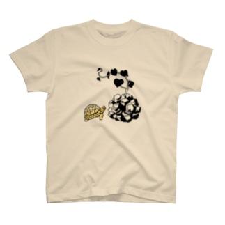 T-29 Dioscorea x turtle T-shirts