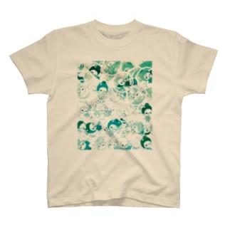 ここ☆味方ゾーン T-shirts