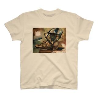 Rainbow StudioのBoots Keiichi Watatani T-shirts