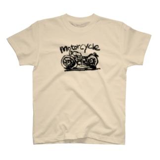 モーターサイクル線 T-shirts