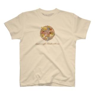 コーヒーブレイクオカメインコ T-shirts