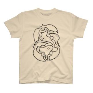 オバケくんとコウモリ T-shirts