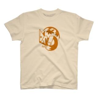aniまる キツネ / T-shirt T-shirts