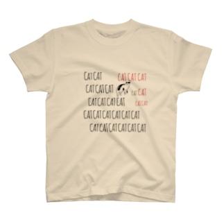 catcatヅラcat T-shirts
