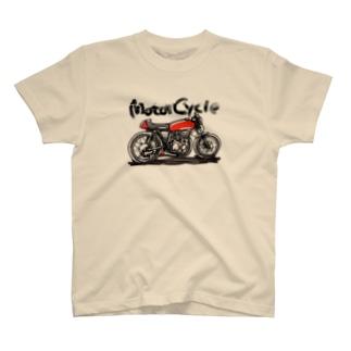 バイクジャパニーズスタイル T-Shirt