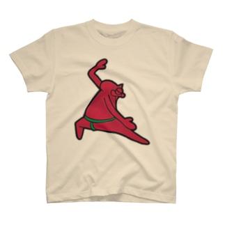 おにゃんプロ(赤い方) T-shirts