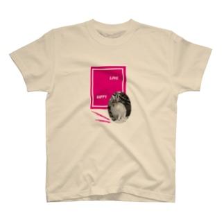 【にこらび】プレッシャーに押しつぶされそうなとき◆エゾユキウサギ02 T-shirts
