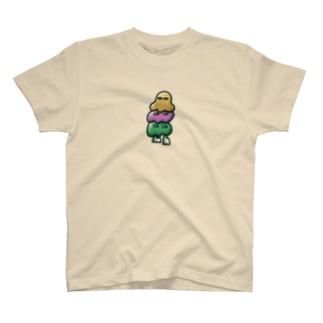 アイスおばけ T-shirts