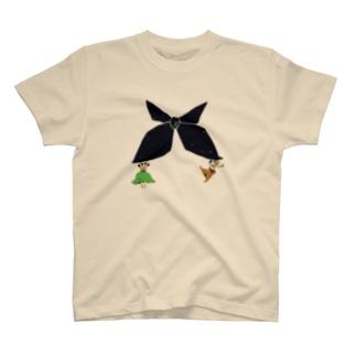 プリントリボンお野菜ちゃん T-shirts