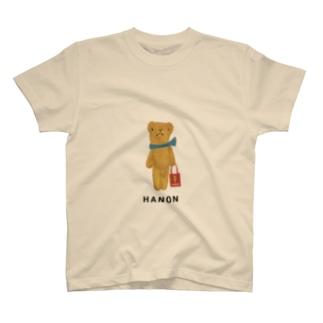 HANONのベロだしベア お買いもの T-shirts