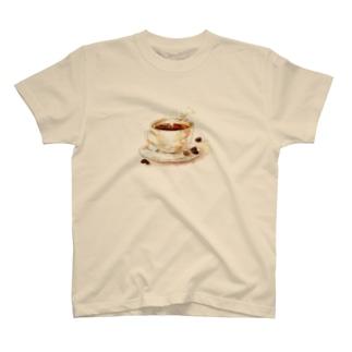 カフェの珈琲 T-shirts