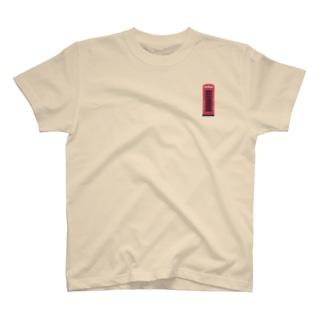 イギリスのテレフォンボックス T-shirts