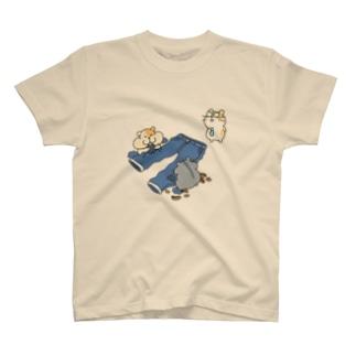 ダメージジーンズ工房(ハムスター支店) T-Shirt