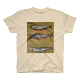 「現在『ししゃも』として流通しているもののほとんどは『カペリン』『カラフトししゃも』というもので、これは30~40年前に輸入されました。なぜししゃもと呼ぶようになったかは、単に見た目が似ているからという理由であって、味はまったくの別モノなんですよ」... T-shirts