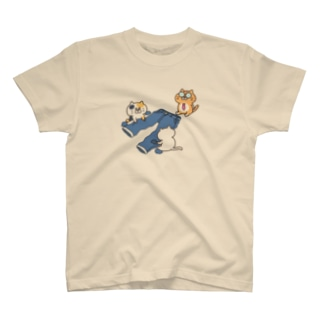 ダメージジーンズ工房(ニャンコ支店) T-shirts