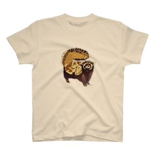 マダライタチ T-shirts