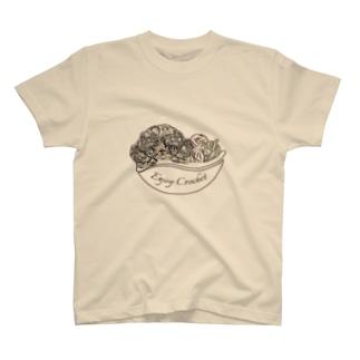 オリジナルロゴプリントTシャツ T-Shirt