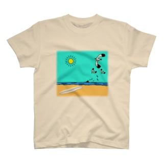 茅ヶ崎海岸 T-shirts