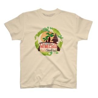 【チャリティーグッツ】Tシャツ wiwiBALIロゴ② T-Shirt