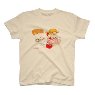 LittleAmi(リトルアミ)のでんわあそび T-shirts