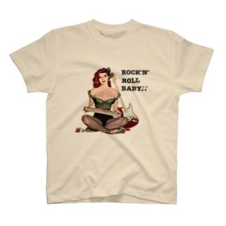 ROCK'N'ROLL BABY♪♪❷ T-shirts