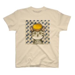 エッグタルト猫 T-Shirt